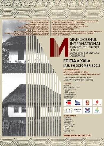 MONUMENTUL XXI Lucrările Simpozionului Internațional Monumentul – Tradiție și viitor Ediția a XXI-a, Iași, 2019