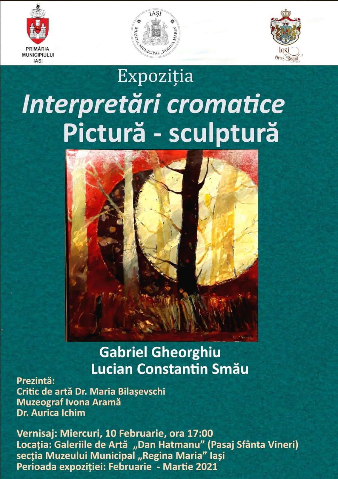 Interpretari cromatice – Gabriel Gheorghiu si Lucian Constantin Smau