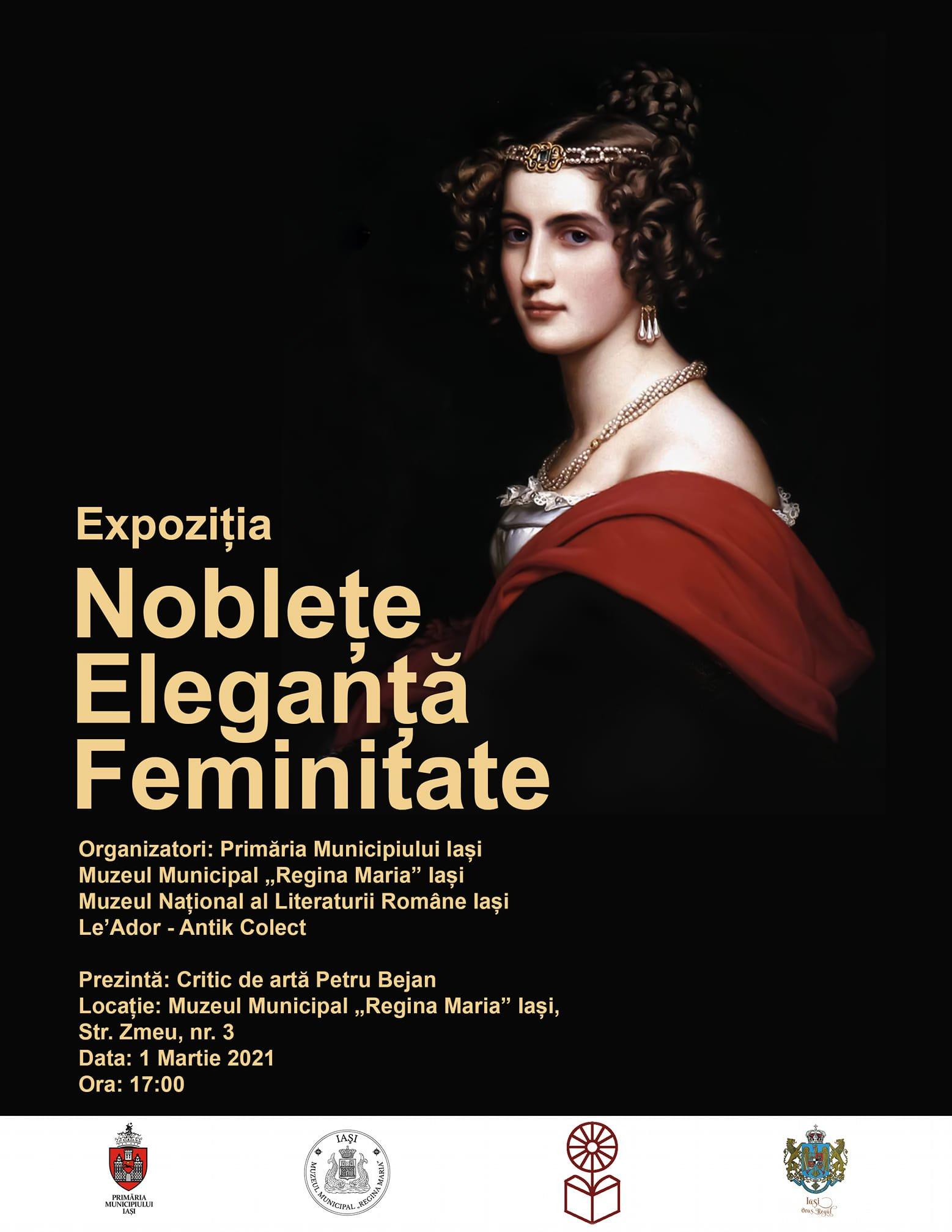 """Expoziția """"Noblețe. Eleganță. Feminitate."""""""